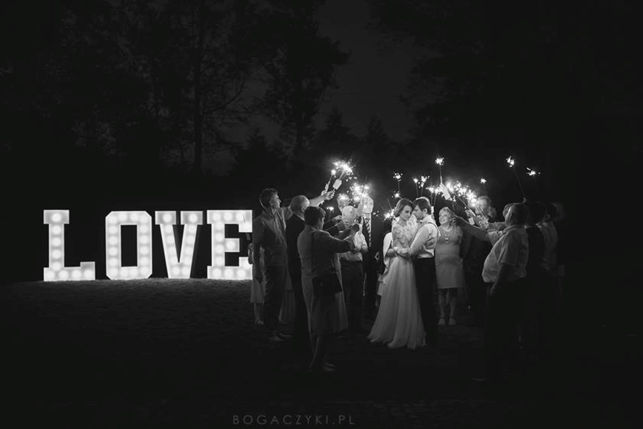 ŻARÓWKOWE•LOVE | 150cm